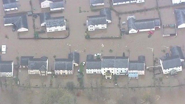 Cockermouth flooding in 2009
