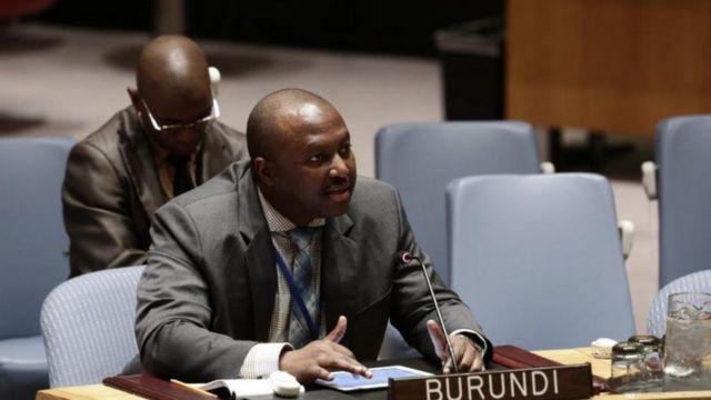 Bwana Shingiro yakunze kumvikana avugira leta y'u Burundi muri UN