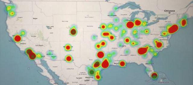 Mapa de detenciones