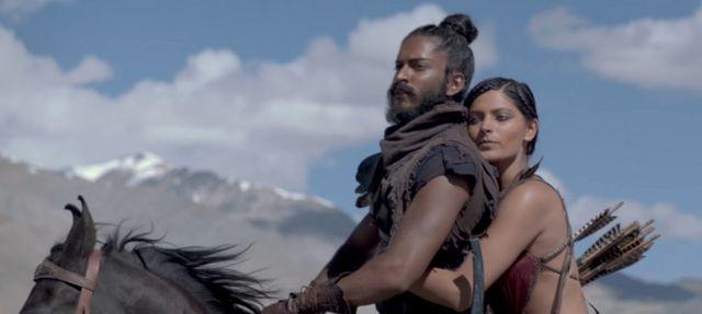 फ़िल्म 'मिर्ज़्या' में हर्षवर्धन कपूर और सैयामी खेर