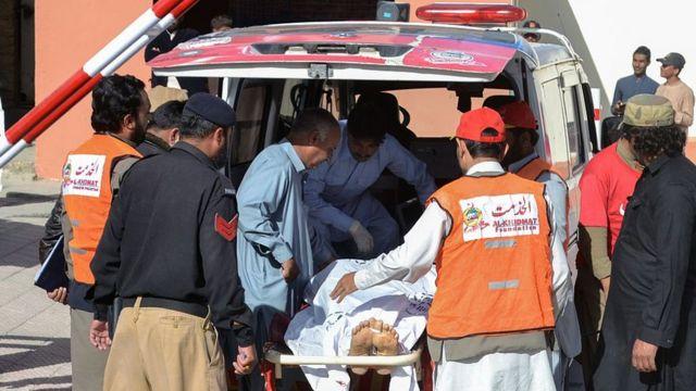 Le bilan de l'attaque de Quetta fait était de 60 morts et d'une centaine de blessés.