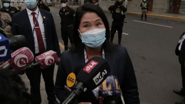 Keiko Fujimori: la Justicia peruana rechaza el pedido de prisión preventiva  para la candidata presidencial - BBC News Mundo