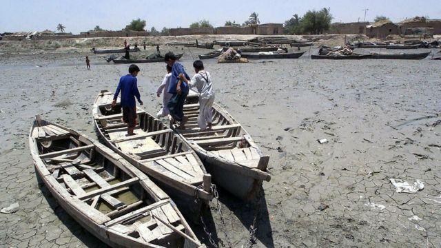 کودکان عراقی در هورالهویزه