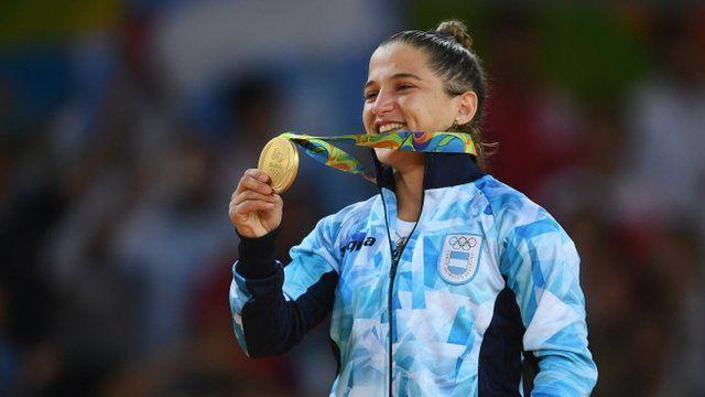 La argentina Paula Pareto fue la primera hispanoamericana en recibir una medalla en Río 2016.