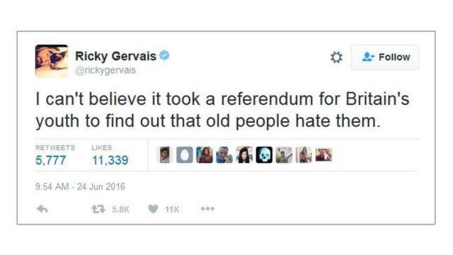 Trino de Ricky Gervais
