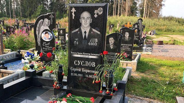 могила капитана Суслова