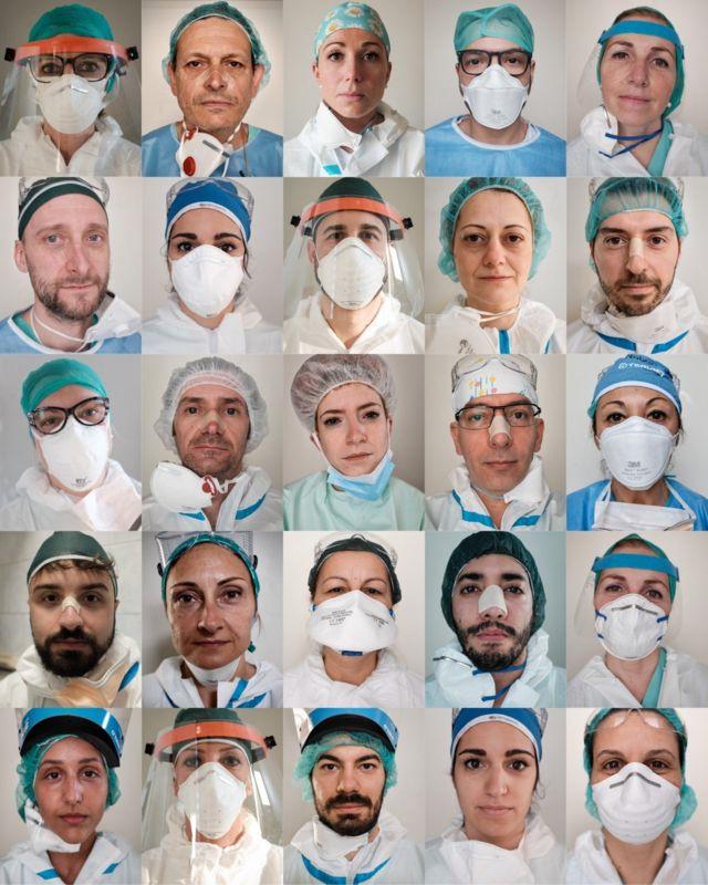 ممرضون وممرضات