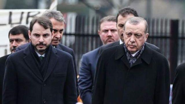 Berat Albayrak ve Cumhurbaşkanı Recep Tayyip Erdoğan