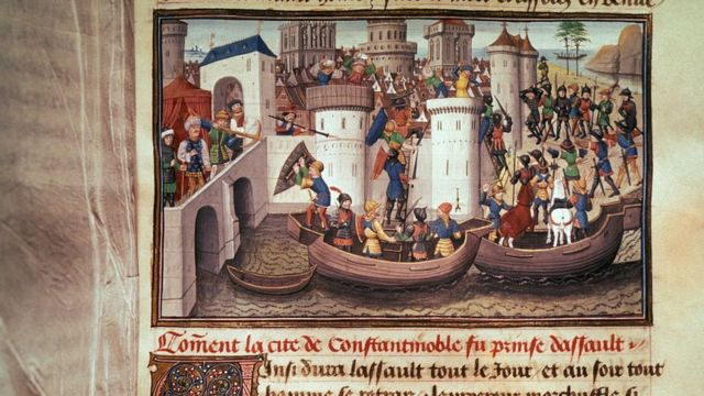 صلیبیوں کا قسطنطنیہ پر حملہ