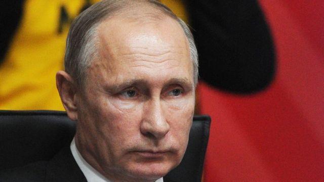 بوتين صرح أن بلاده تعتزم القيام بإجراءات ضد حلف الناتو تتمثل في قصف أي منشآت تعتبرها تهديدا لها