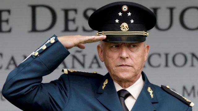 Salvador Cienfuegos, foto de archivo