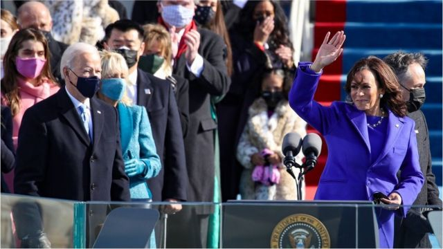 Biden and Harris inauguration live: Watch Joe Biden, Kamala Harris US  Presidential inauguration ceremony live - BBC News Pidgin