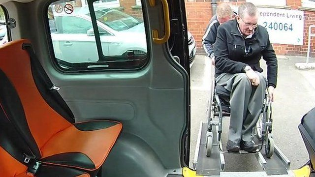 Wheelchair access to vehicle