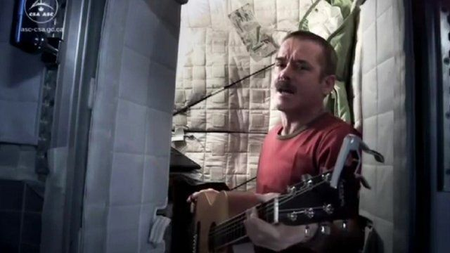 Astronaut Chris Hadfield's out-of-this-world album