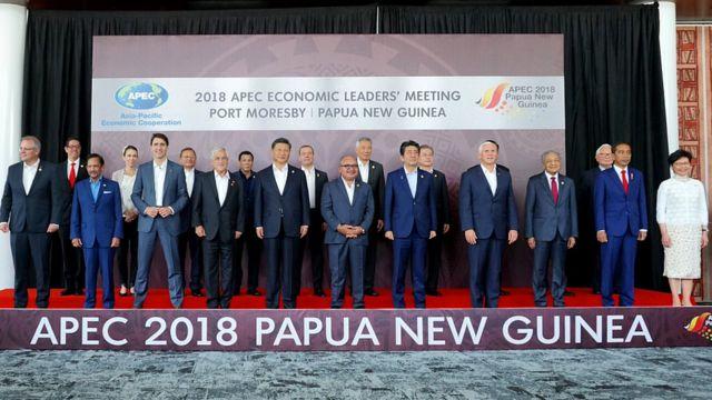APEC、終わりの見えない「お家騒動」 米中の緊張高まる - BBCニュース