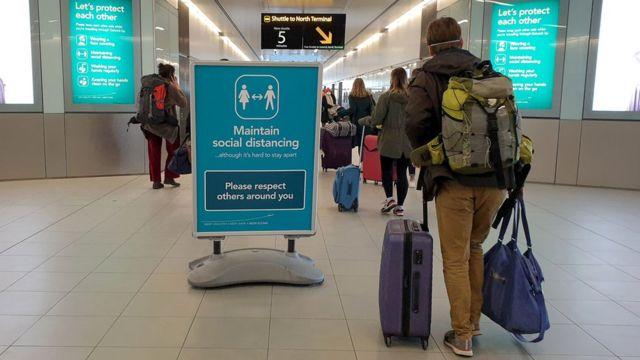 Gatwick Airport on Sunday