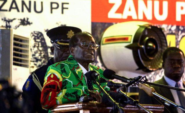 Perezida Mugabe yakoresheje ijambo rye ahamagarira kugira ubumwe mu ishyaka 17 /12/2016