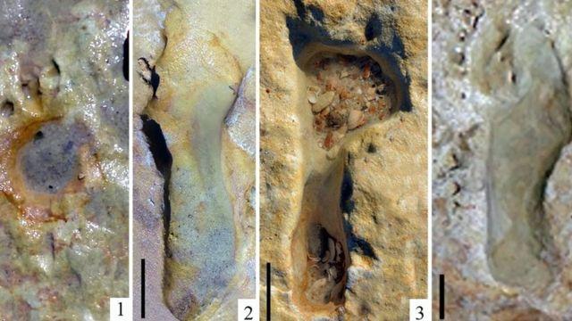 Huellas de neandertales