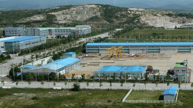 El complejo industrial de Kaesong