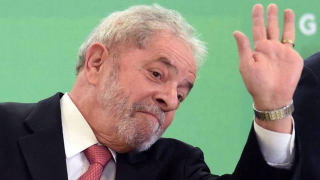 पूर्व राष्ट्रपति लुइज् इनासियो लुला दा सिल्भा
