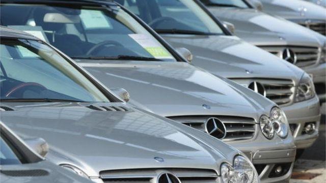 Mercedes - самое популярное авто среди кандидатов в президенты