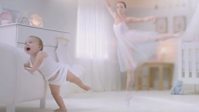 Ballerina baby