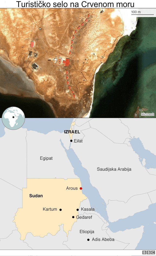 Mapa Sudana