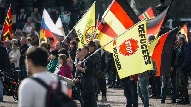 Protestas contra inmigrantes
