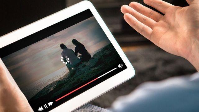 Video en la tablet