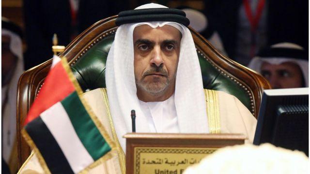وزير الداخلية سيف بن زايد آل نهيان