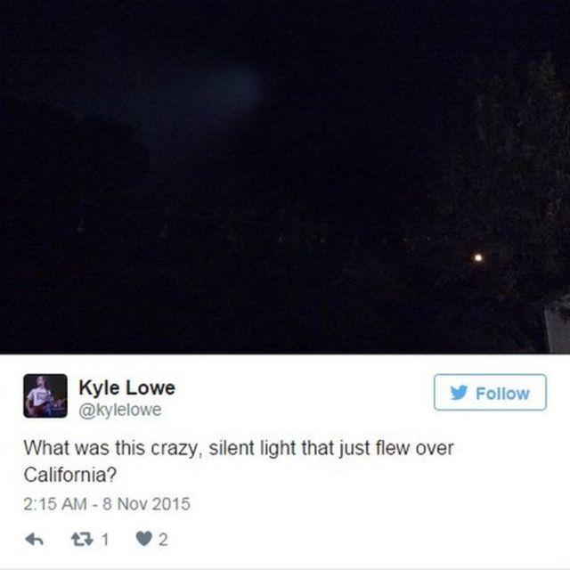 Tweet by Kyle Lowe (7 November)