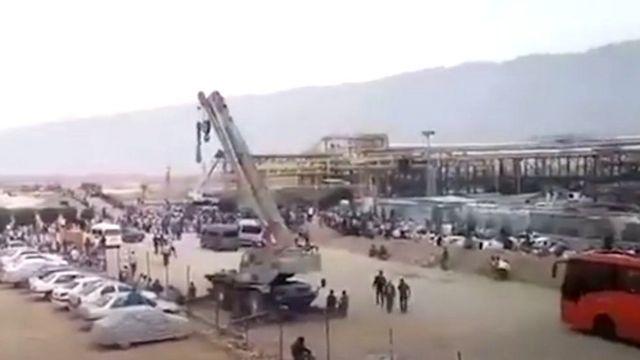 دومین روز اعتصاب در پالایشگاه لامرد فارس