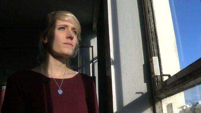 English teacher Lauren Sharpe