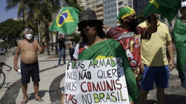 Protesto pró-Bolsonaro nesta quinta-feira
