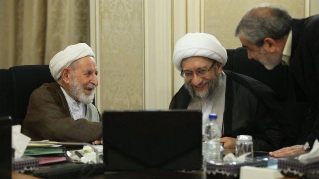 کدخدایی، لاریجانی و یزدی