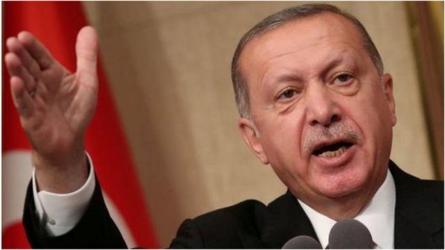 Rais wa Uturuki Tayyip Erdogan