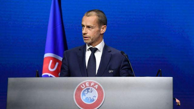 Alexander Ceferin, presidente de la UEFA.