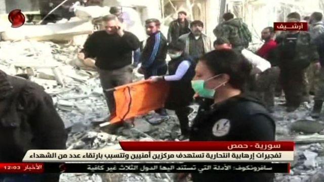 Al-Ikhbariya Al-Souriya TV channel