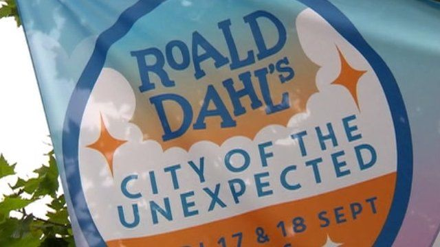 Road Dahl's City of the Unexpected logo