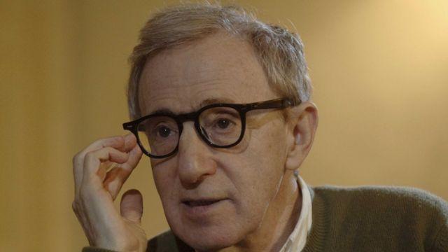 Woody Allen en entrevista con la BBC en 2005