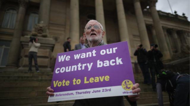 """Campaña por el """"Leave"""" para el referendo del Brexit"""