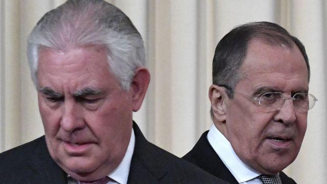 Lavrov dan Tillerson