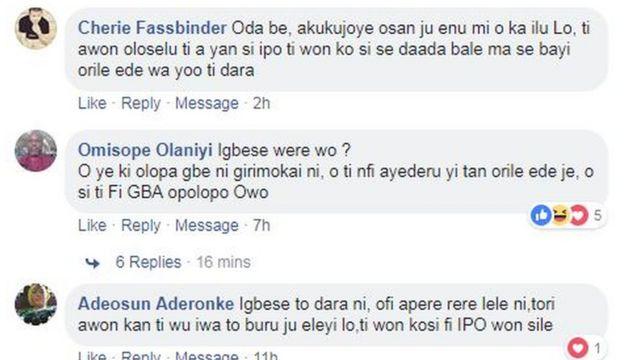 Iriwisi oju opo Facebook