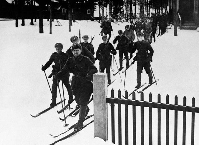 Фінські солдати