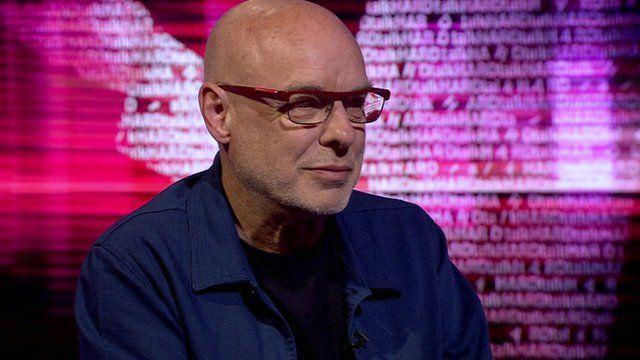 Brian Eno, musician and visual artist