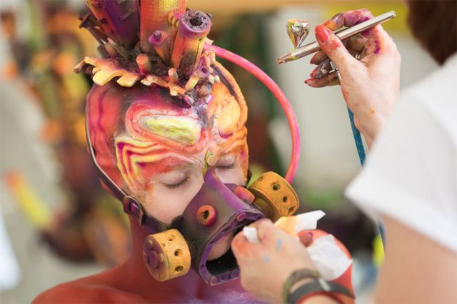 World Bodypainting Festival: Models transformed into amazing artworks