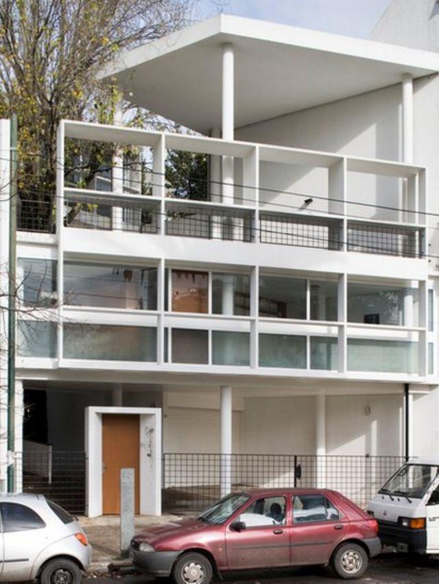 Casa del doctor Curutchet, en La Plata, Argentina.