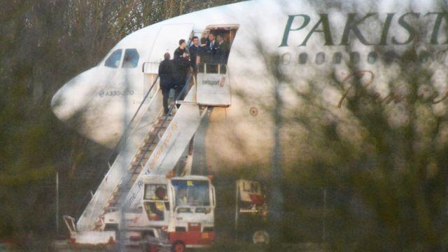 पीआईए का एक विमान.