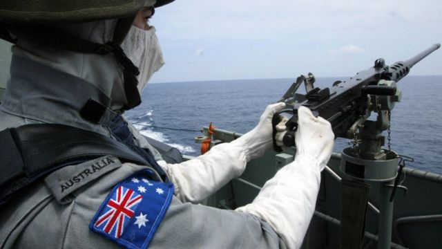 China angered by Australia military spending boost