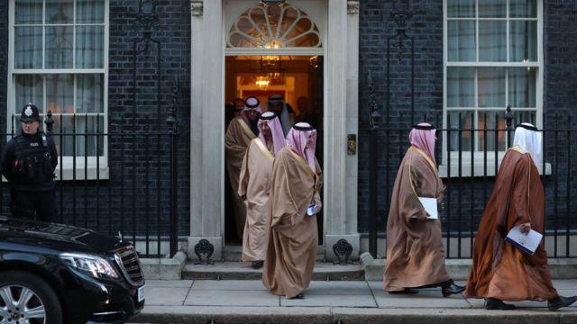 حکومت عربستان همواره در تلاش بوده تا رابطه خوبی با بریتانیا داشته باشد